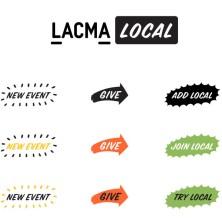 LACMA LOCAL identity